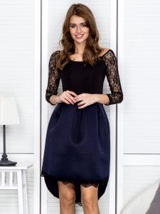 czarne sukienki wieczorowe