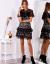 modelka w sukience koronkowej